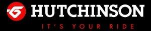 logo HUTCHINSON  fond noir